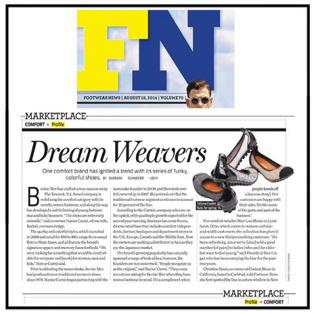 Dream Weavers | Footwear News
