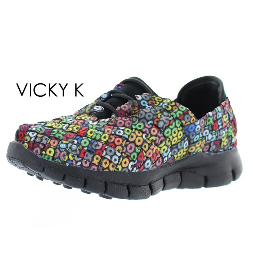 Vicky dazzle black sole