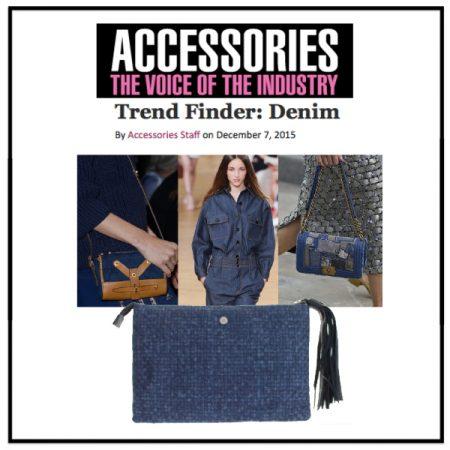 Trend Finder: Denim - Accessories Magazine