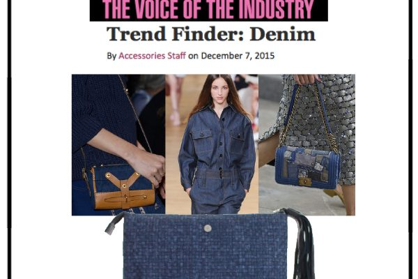 Trend Finder: Denim - Accessories Magazine