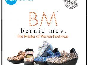 Bernie Mev Halle Woven Elastic PeepToe Wedge - YouTube
