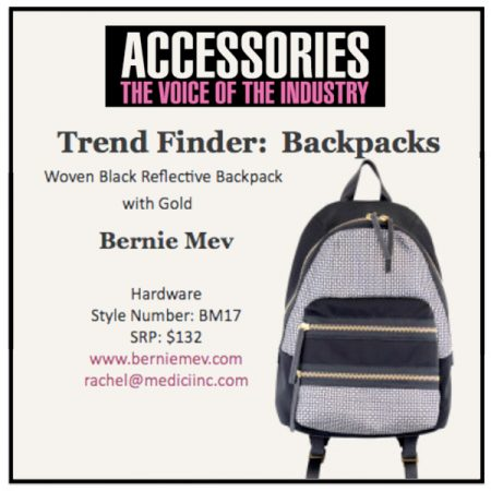Trend Finder: Backpacks - Accessories Magazine