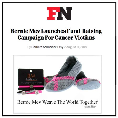 Bernie Mev Establishes Fundraising Campaign For Cancer Victims | Footwear News